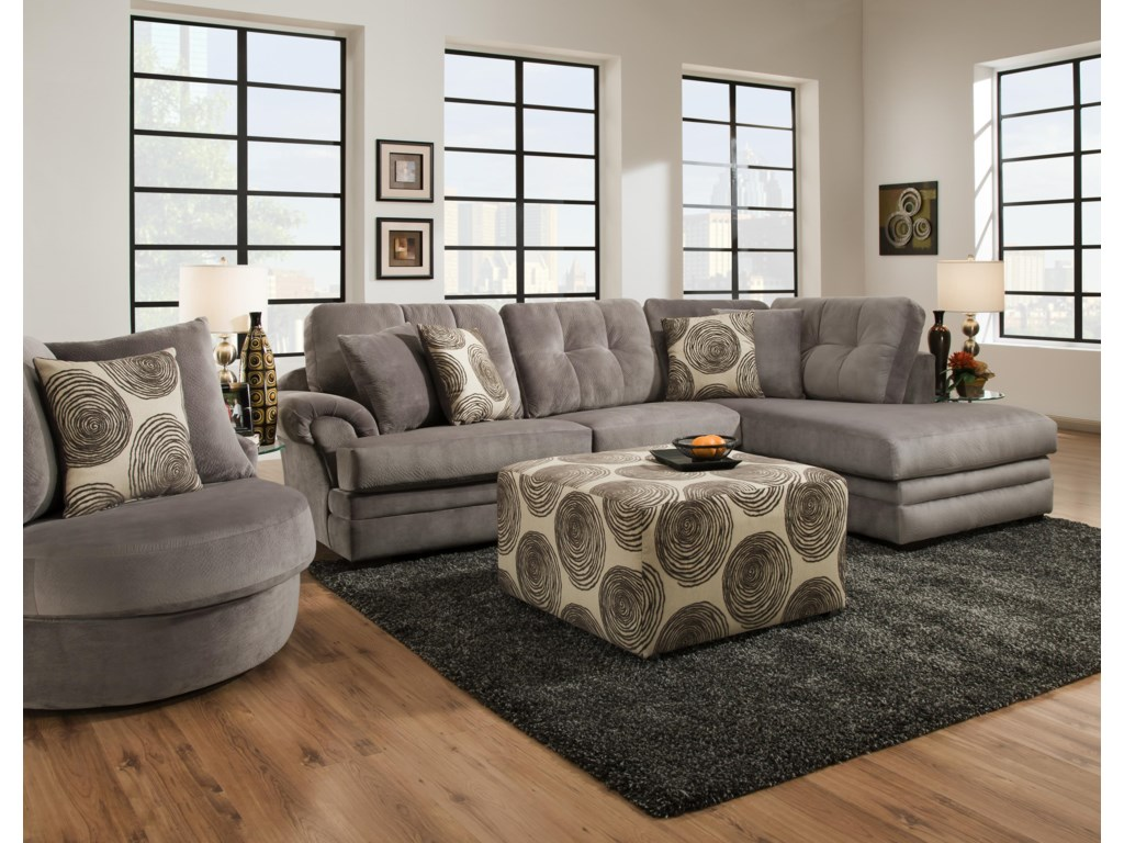 Corinthian 16B0Stationary Living Room Group