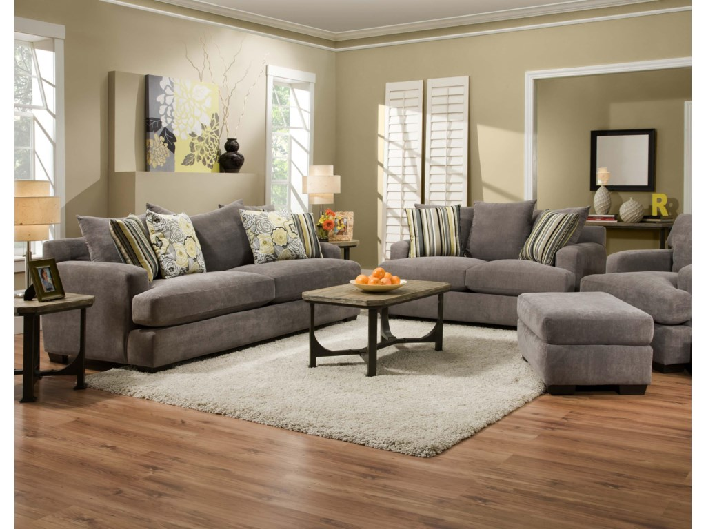 Corinthian 7810Stationary Living Room Group