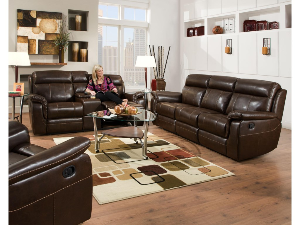 Corinthian 862Reclining Living Room Group