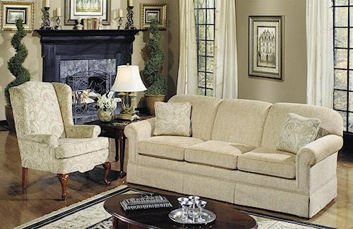 Craftmaster 4200 Stationary Living Room Group