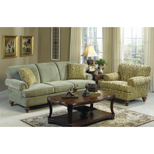 Craftmaster 704750 Stationary Living Room Group