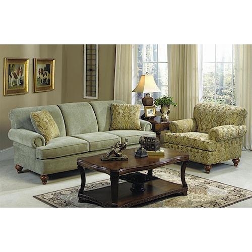 Hickory Craft 7047 Stationary Living Room Group
