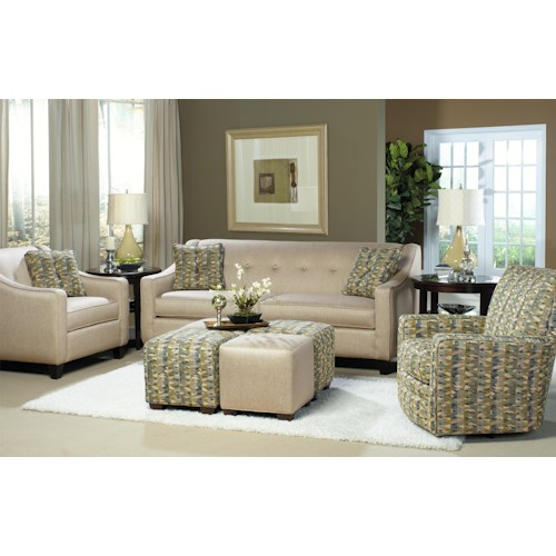 Cozy Life 7069 Stationary Living Room Group