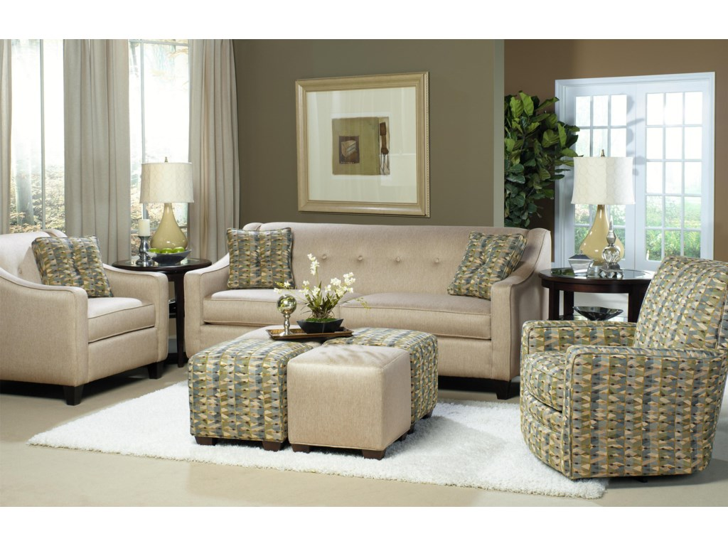 Craftmaster 7069Stationary Living Room Group