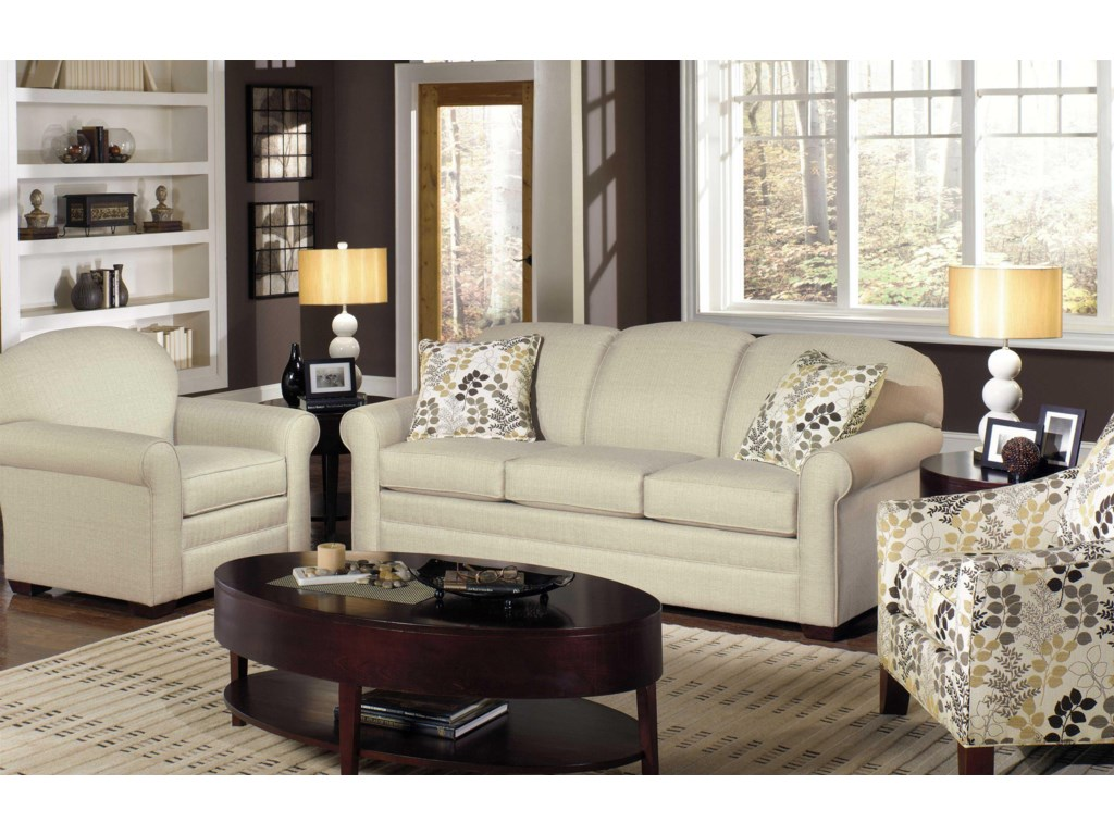 Craftmaster 7185Stationary Living Room Group