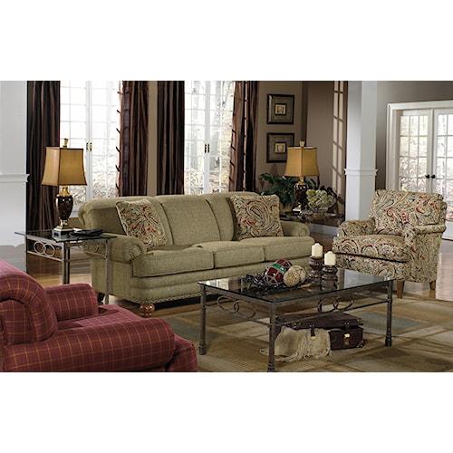 Craftmaster 728150 Stationary Living Room Group