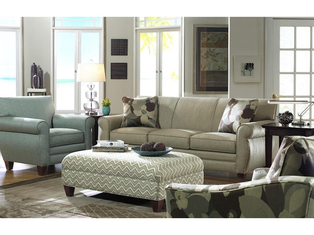 Hickorycraft 7388Stationary Living Room Group
