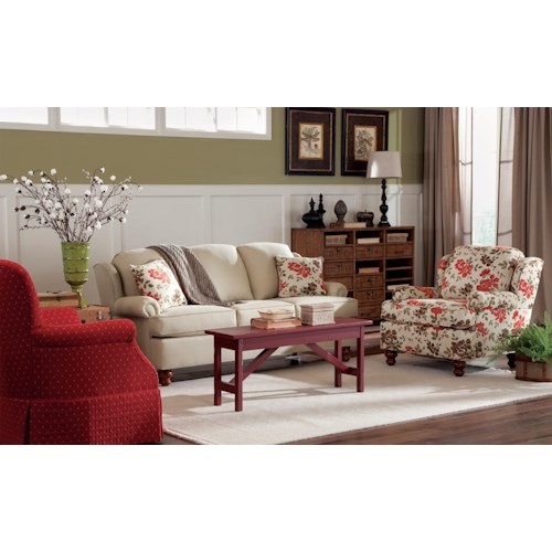 Craftmaster 740200 Stationary Living Room Group