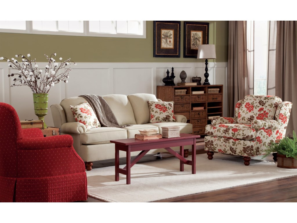 Craftmaster 7402Stationary Living Room Group