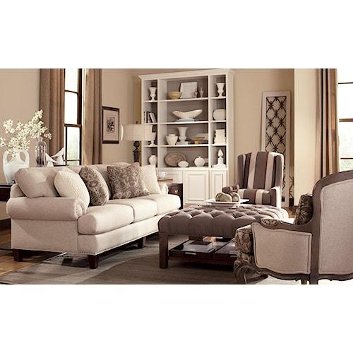 Craftmaster 7405 Stationary Living Room Group