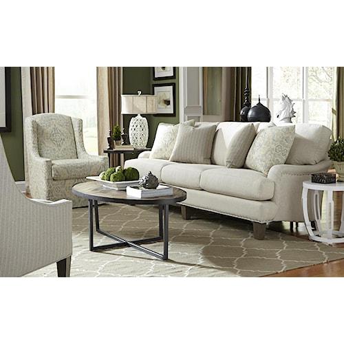 Craftmaster Ellie Stationary Living Room Group