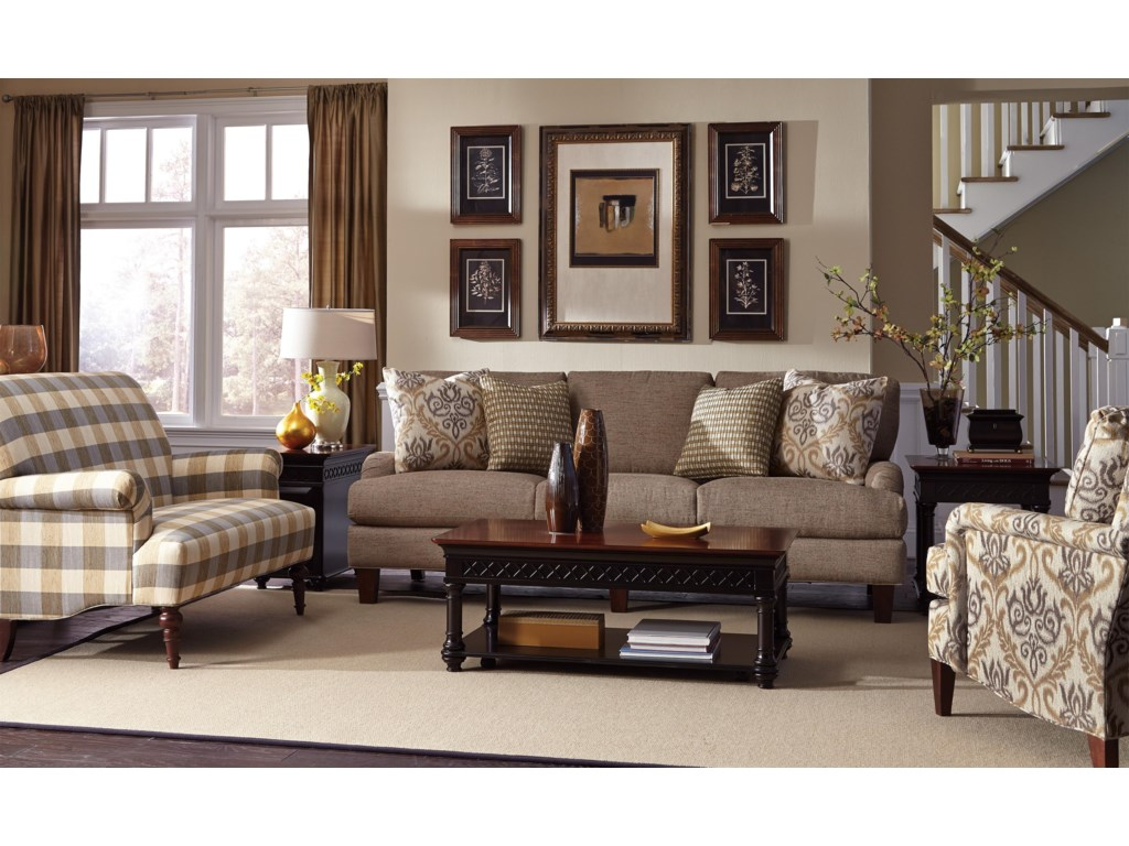 Craftmaster 7430Stationary Living Room Group