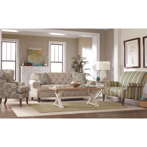 Craftmaster 7463 Stationary Living Room Group