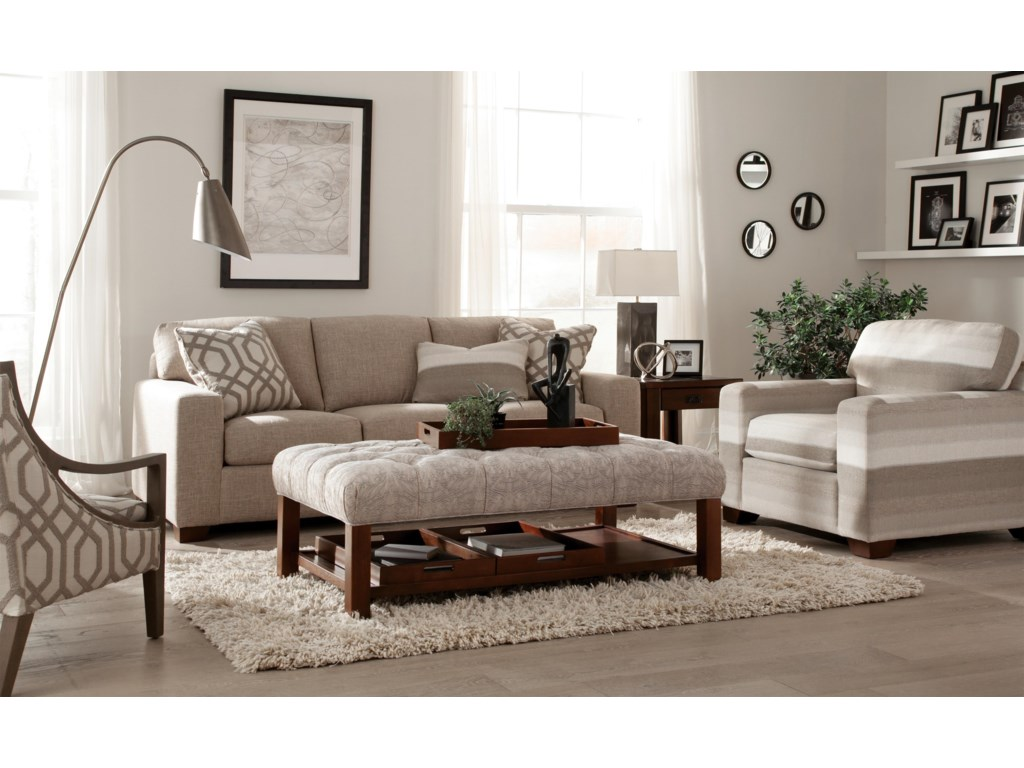 Hickorycraft 758700Stationary Living Room Group