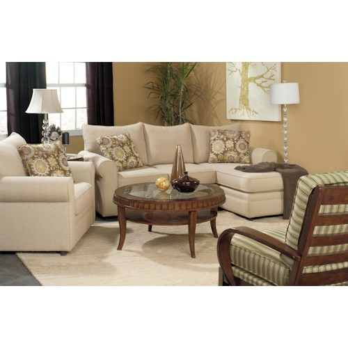 Craftmaster Abbey Stationary Living Room Group