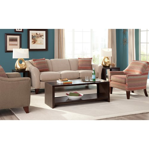 Cozy Life Townhouse Stationary Living Room Group