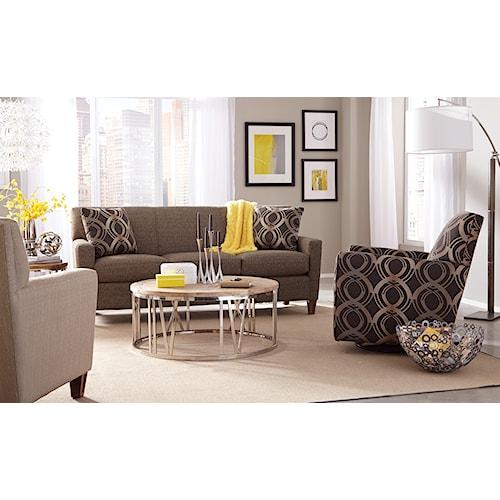 Craftmaster 7864 Stationary Living Room Group