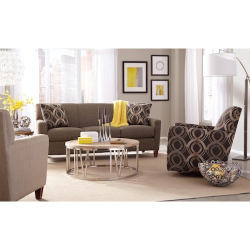 Craftmaster 7864 Stationary Living Room Group