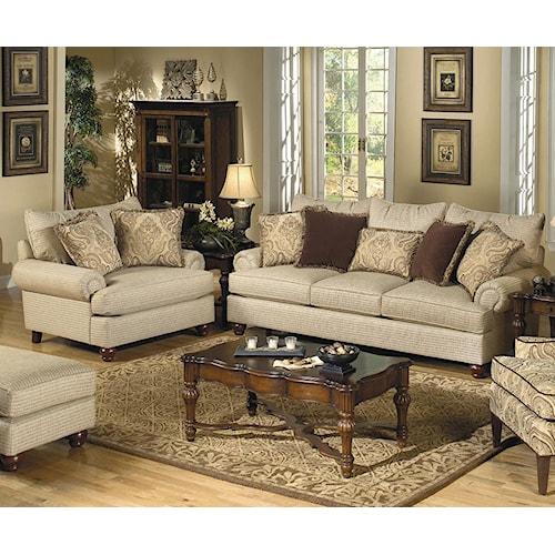 Craftmaster 7970 Stationary Living Room Group