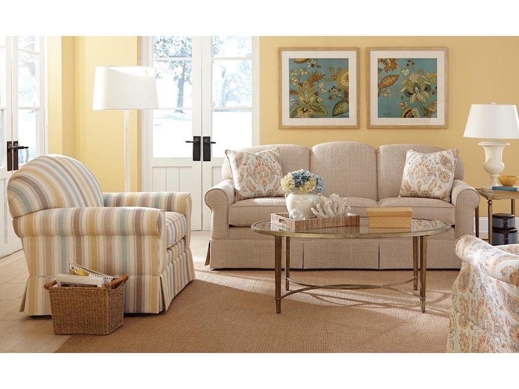 Craftmaster 9182Stationary Living Room Group