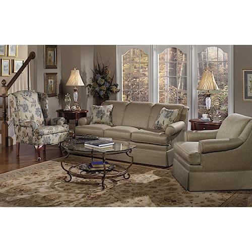 Craftmaster 9205 Stationary Living Room Group