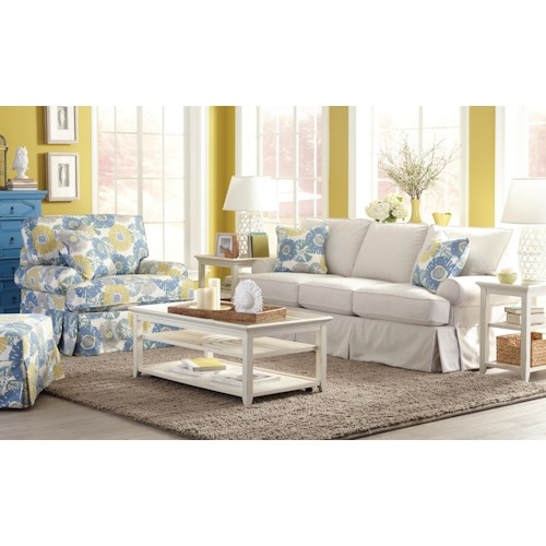 Craftmaster 952100 Stationary Living Room Group
