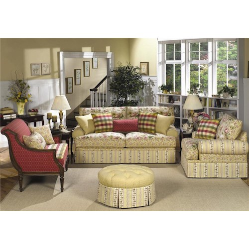 Craftmaster 9535 Stationary Living Room Group