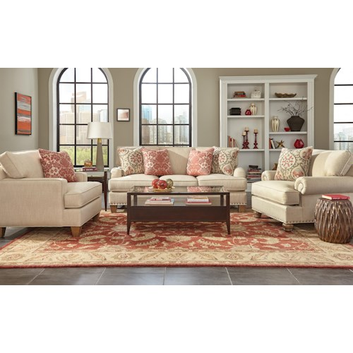 Craftmaster C9 Custom Collection <b>Customizable</b> Living Room Group