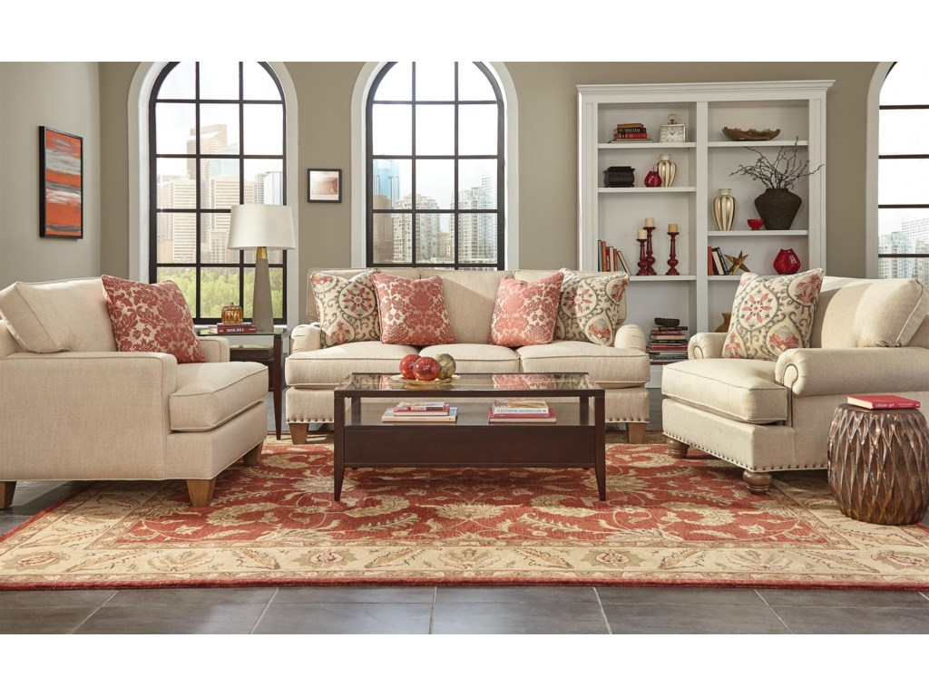 Craftmaster C9 Custom Collection<b>Custom</b> Living Room Group