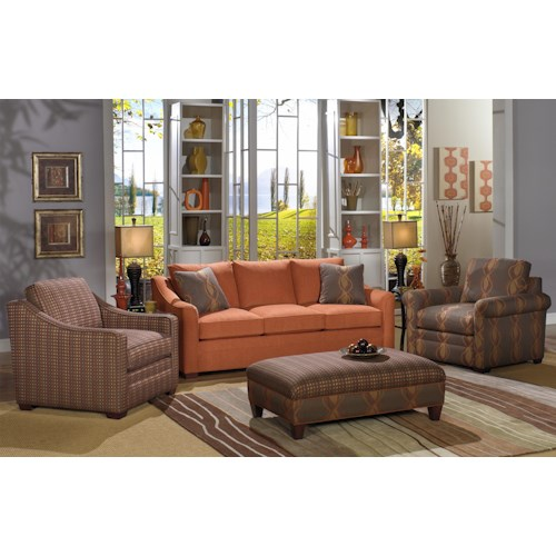 Cozy Life F9 Custom Collection Stationary Living Room Group