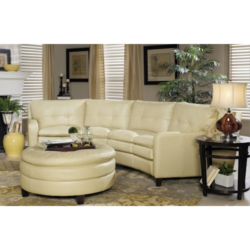 Hickory Craft L1348 Stationary Living Room Group Godby Home Furnishings Stationary Living