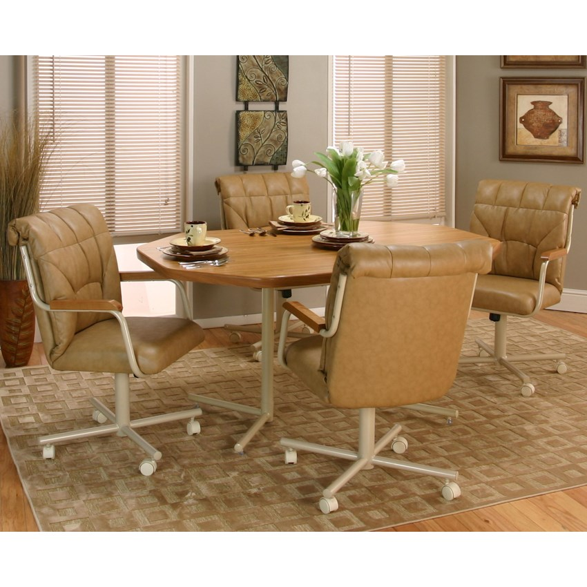 Kitchen Chairs On Wheels: Marlin (d8454) By Cramco, Inc