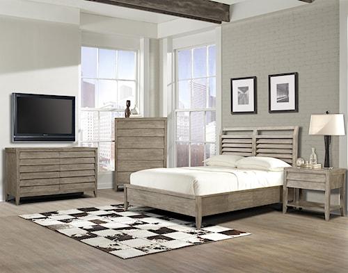 Cresent Fine Furniture Corliss Landing King Bedroom Group