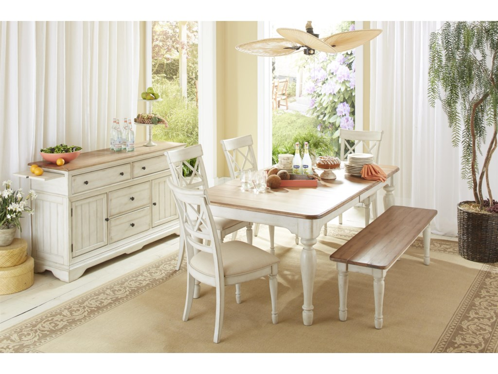 Cresent Fine Furniture CottageFormal Dining Room Group