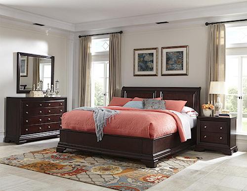 Cresent Fine Furniture Newport Cal King Bedroom Group