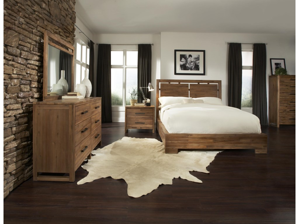 Cresent Fine Furniture WaverlyCal King Bedroom Group