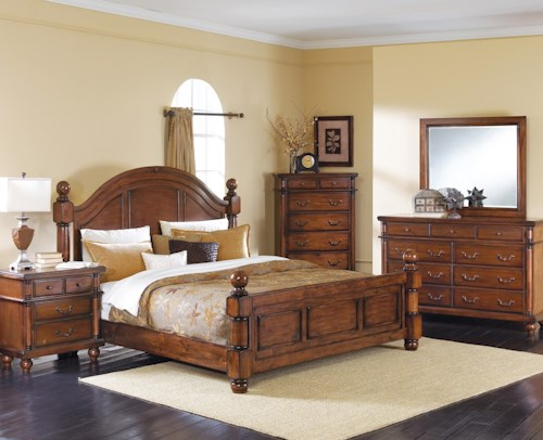 Crown Mark Augusta King Bedroom Group