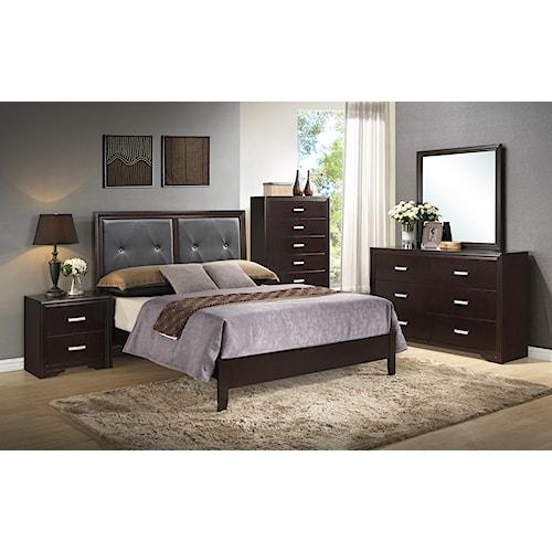 Crown Mark Elijah Bedroom Group