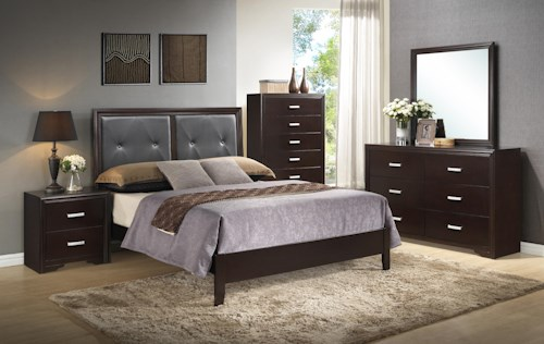 Crown Mark Elijah Bedroom Group