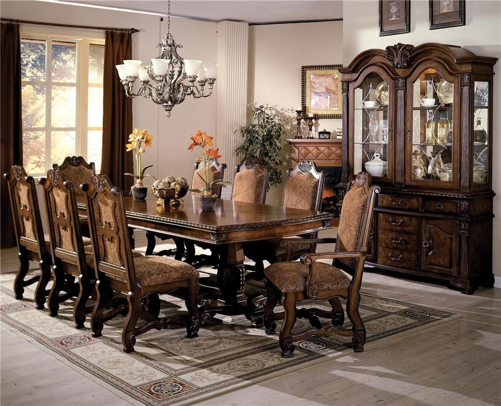 Crown Mark Neo Renaissance Formal Dining Room Group | Bullard Furniture | Formal  Dining Room Groups Fayetteville, NC