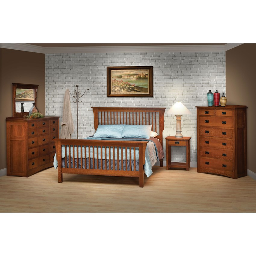 Mission By Daniels Amish Conlins Furniture Daniels Amish - Daniel's amish bedroom furniture