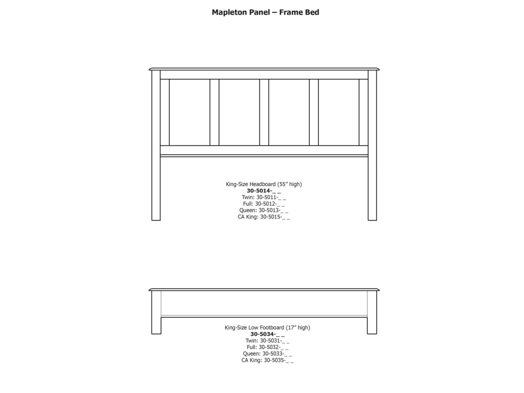 Daniel's Amish Mapleton8-Drawer Double Dresser