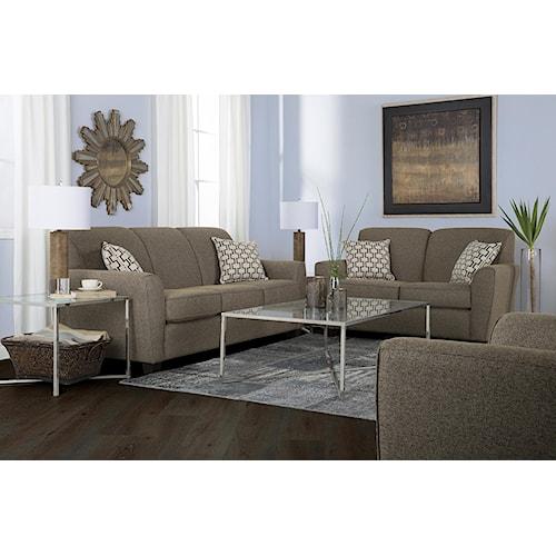 Decor-Rest 2404 Stationary Living Room Group