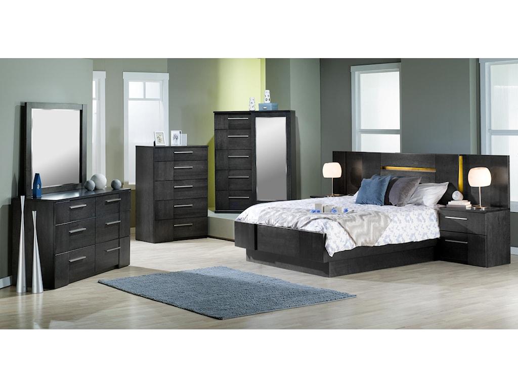 Defehr MilanoKing Bedroom Group