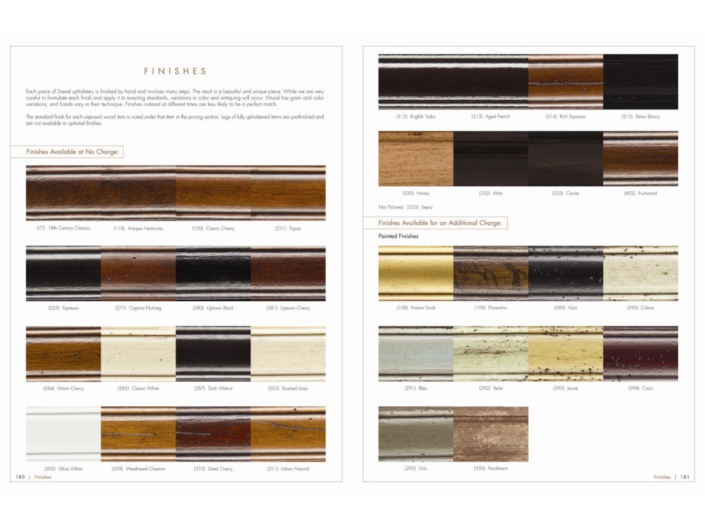 Customization Starts with the Finishing Process, with a Range of Painted and Natural Wood Styles Available