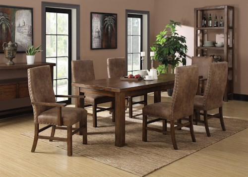Emerald Chambers Creek Formal Dining Room Group