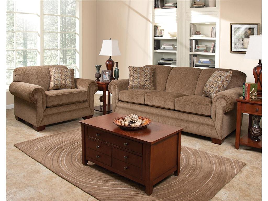 England MonroeStationary Living Room Group