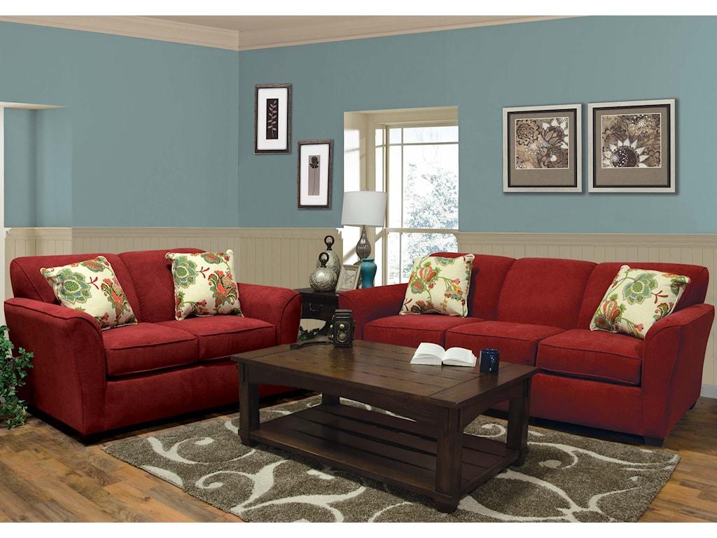 England SmyrnaStationary Living Room Group