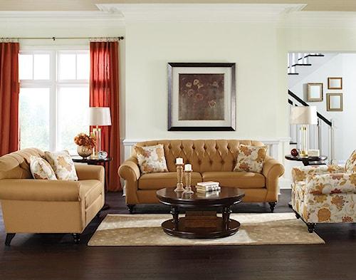 England Stacy Stationary Living Room Group