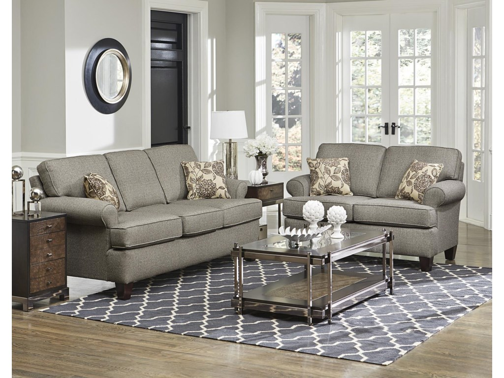 England WeaverStationary Living Room Group